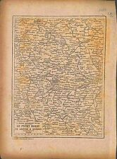Map Carte Front Russie Russia Lutsk Loutsk Grodno Brest-Litovsk Kovel 1916 WWI