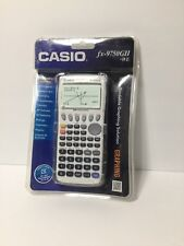 Casio fx-9750GII-WE Graphing Calculator (White, w/Batteries) NEW! Free Shipping!
