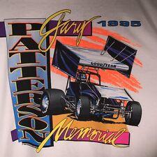 Gary Patterson XL 1995 Memorial T Shirt NARC SCRA Dirt Track Racing Legend NOS