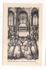 sainte solange , vénération des reliques