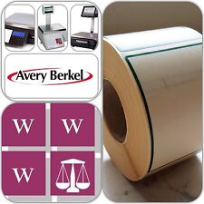 Avery Berkel Thermal Scale Labels - 58x76mm, 36 Rolls 18,000 Labels