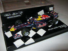 1:43 RED BULL Racing RB7 M. Webber 2011 410110002 MINICHAMPS Neu OVP