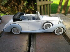SOLIDO AGE D'OR ROLLS ROYCE PHANTOM Irare blanche ailes bleu pale n°46