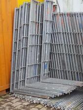 Plettac SL100 Schutzgitterstütze Geländerpfosten  2,00 x 1,00m für Gerüstnetz