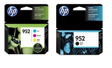 HP GENUINE 952 Black & Color 4-Pack of Ink Cartridges EXP.2019