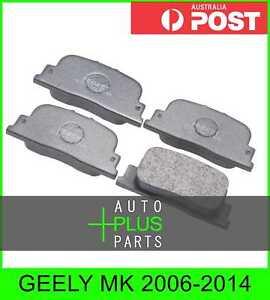 Fits GEELY MK Brake Pads Disc Brake (Rear)