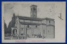 BARLASSINA La Chiesa Parrocchiale animata viaggiata 1905  f/p #20223