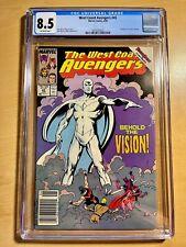 WEST COAST AVENGERS #45 (CGC 8.5) 1ST WHITE VISION! WANDAVISION/DISNEY+!!!