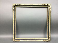 """Batwing Pie Crust Arts & Crafts Wood Picture Frame Vintage Lg Bat Wing 18"""" X18"""""""