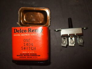 NOS 1940-46 CHEVY GMC TRUCK Dash Switch DELCO-REMY 1404 Military Army WWII OEM