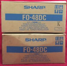 Sharp FO-48DC Cartridge FO48DC (1) Factory Sealed FO 3400 3400T 3450 34(Lot of2)