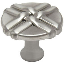 Cosmas Cabinet Hardware Satin Nickel Braided Cabinet Knob #7062SN