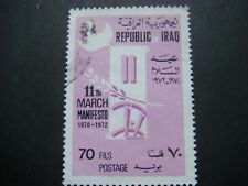Iraq 1972 2nd Anniv of Manifesto of March 11t 70F value SG 1025 Used Cat £3.25