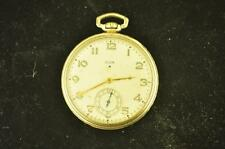 VINTAGE 12S ELGIN POCKET WATCH GRADE 315 FROM 1938 KEEPING TIME