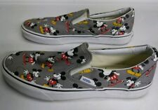VANS Classic Mickey Mouse Slip-On Shoes Men's Size 9 pre owned Disney nice pair