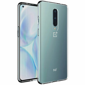 Designed for VERIZON OnePlus 8 5G UW Case, TUDIA Ultra Clear Fit [SKN] Thin Case