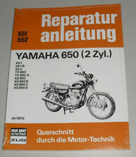 Reparaturanleitung Yamaha XS 650 + TX 650 ab Baujahr 1970