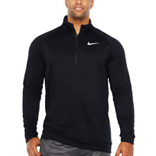 Nike-Therma-Fit-Mens-Game -Black-Size-M-Ko-1-4-Zip-T raining Nwt Msrp 55.00