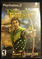 ROBIN HOOD: DEFENDER OF THE CROWN SONY(PlayStation 2, PS2 2003) FACTORY SEALED!