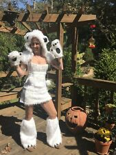 Be Wicked POLAR BEAR Furry Cosplay Festival Halloween costume YANDY Size S/M
