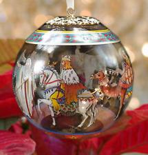 """Versace Christmas Ornament """"Cortege de Noel"""""""