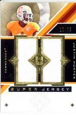 justin hunter rc rookie draft dual jersey patch tennessee vols college #/35 2013