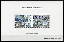 MONACO SPACE  EUROPA 1991  PERFORATE  SOUVENIR SHEET SCOTT#1760/61  MINT NH