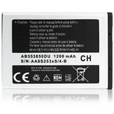 Samsung Battery Original AB553850DU for Duos D880 D980 1200mAh Battery New Bulk
