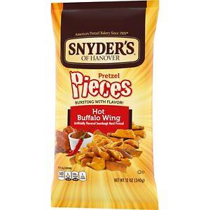 Snyder's Pretzel Pieces Hot Buffalo Wings 12 oz