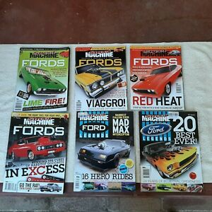 Street Machine magazines. Featuring Ford. Bulk lot of 6.