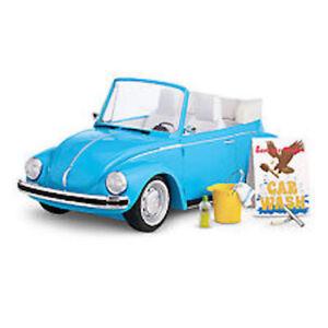 American Girl Doll Julie's Car Wash Set Volkswagen NEW! Retired