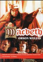 MACBETH DVD Nuovo Sigillato Orson Welles RN