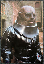 DOCTOR WHO POSTER . SONTARAN LINX - THE TIME WARRIOR . JON PERTWEE ERA