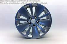 "BMW E65 E66 730d FL (2) 7 SERIES 18"" DOUBLE SPOKE 174 ALLOY WHEEL #5"