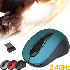 2.4GHz USB Wireless Mouse Cordless Optical Scroll 2000 DPI Mouse Computer Laptop