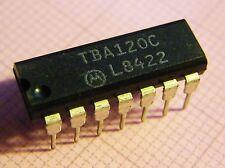 2x tba120c FM if amplifier/FM detector, Motorola
