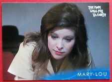 DAVID BOWIE - The Man Who Fell To Earth - Card #17 - Mary-Lou - Unstoppable