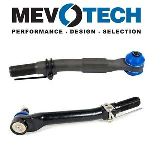 For Ford F-Series Pair Set of Front Outer Tie Rod Ends Mevotech MS40622 MES80754