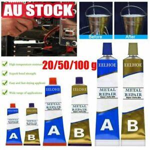 Industrial Heat Resistance Cold Weld Metal Repair Paste A&B Adhesive Gel Tool AU