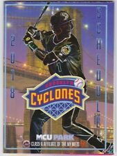 Brooklyn New York Cyclones 2018 Regular Season Pocket Schedule Mets Baseball