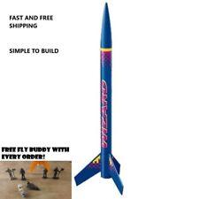 Estes Flying Model Rocket Kit Wizard 1292 1-Single Bulk Kit New Sealed Blue