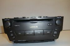 2007 LEXUS IS220D IS250 RADIO AUDIO STEREO CD HEAD UNIT PLAYER 86120-53370