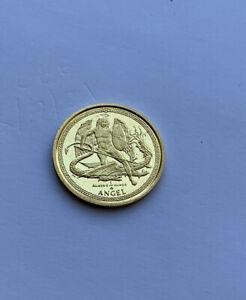 1/4 oz 999 Gold 2014 Isle Of Man Angel