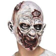 Vestito per Halloween Zombie Maschera con Rotting Flesh Nuovo Da Smiffys