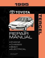 1995 Toyota Tercel Factory Service Manual Original Shop Repair Book Ebay