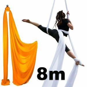 Firetoys Aerial Silk (Aerial Fabric / Tissus) - Orange-8 metres