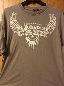 Johnny  Cash.   Shirt.  Gray.   2006.   1X