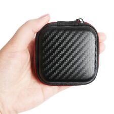 KZ Earphone Bag Headphone Box Fiber Zipper Earbuds Hard Case Storage Carry Pouch