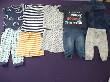 Baby boys clothes bundle 3-6 months 10 items Next, George, F&F