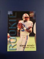 1995 Fleer Ultra Extra # 435 STEVE MCNAIR Rookie Houston Oilers RC Great  !